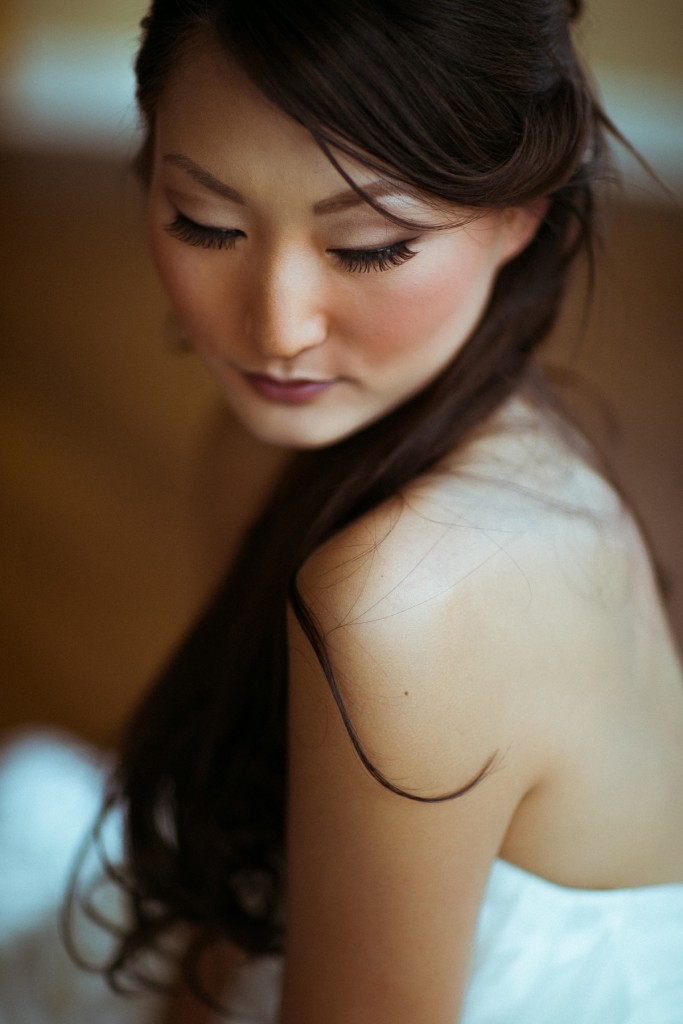 bridal beauty photo