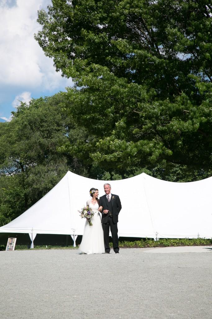 cincinnati backyard barn wedding