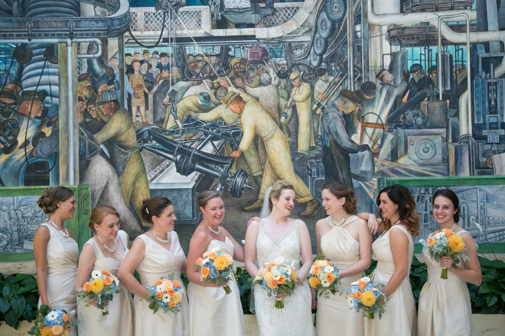 Detroit instate of art wedding
