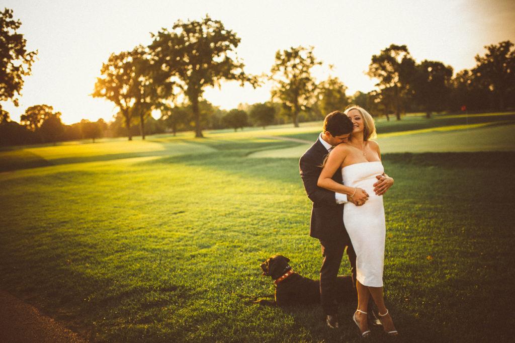 cincinnati wedding couple