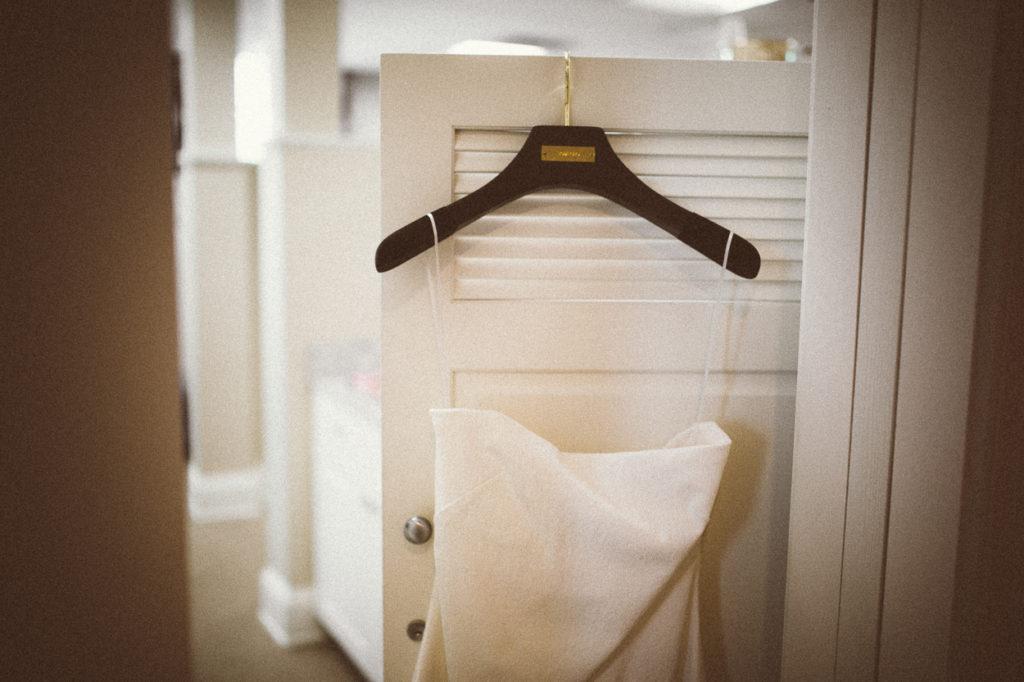 wedding details designer dress