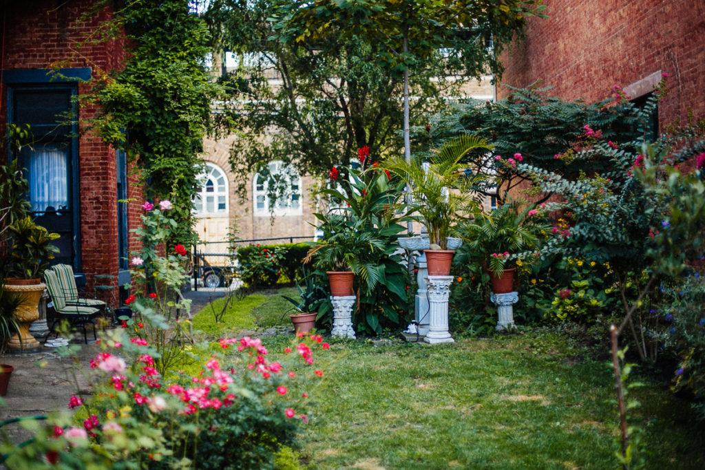 dayton street hidden garden