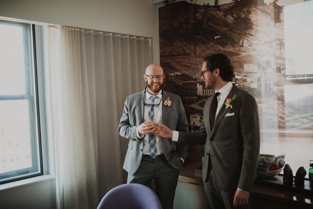 21C wedding day