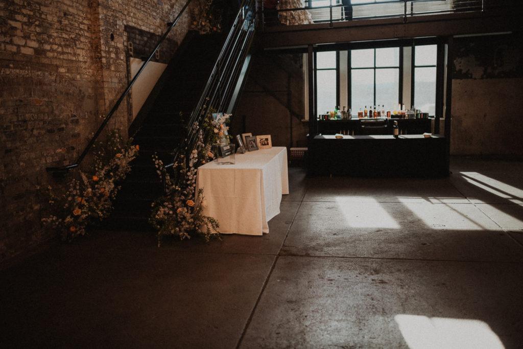 Rhinegeist otr annex wedding setup