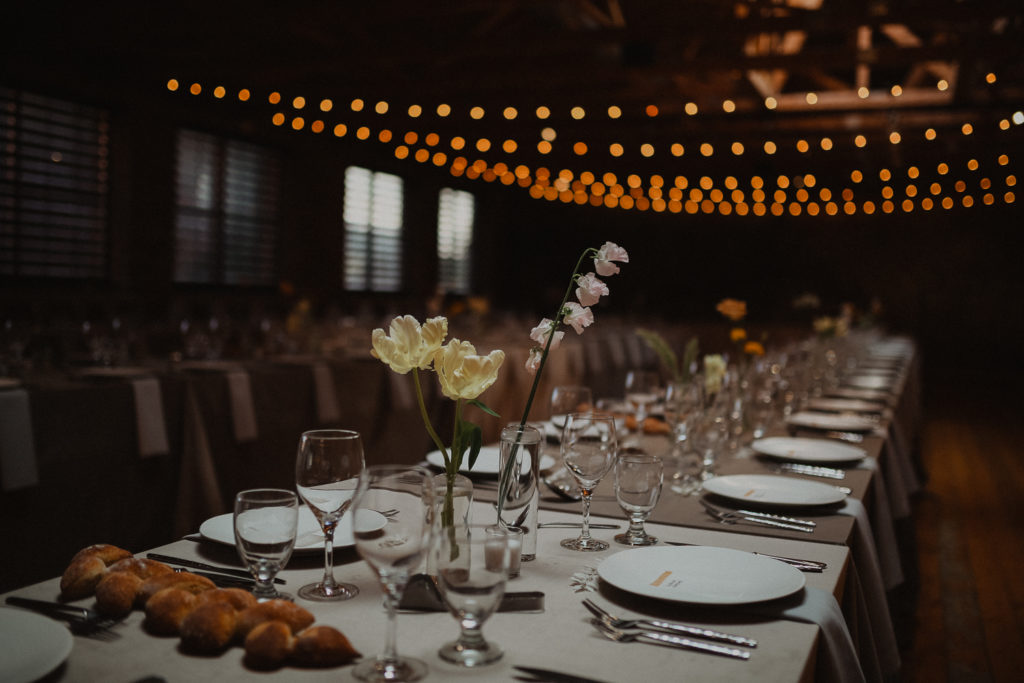Rhinegeist clubhouse wedding decor