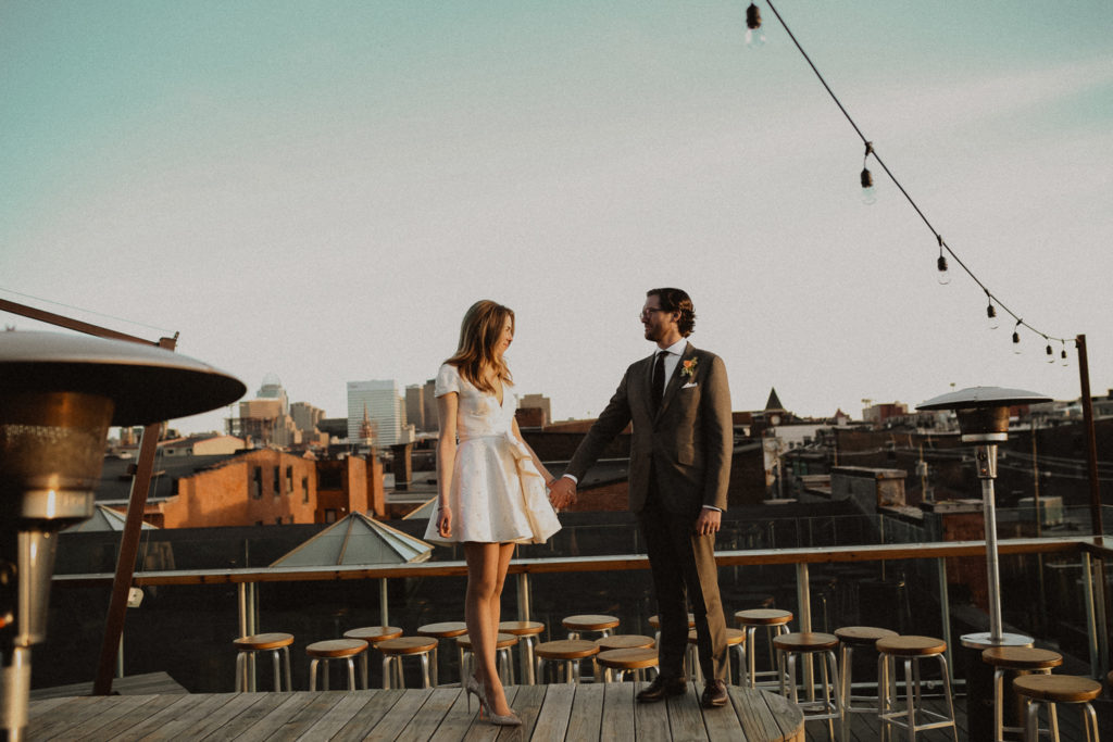rhinegeist rooftop wedding