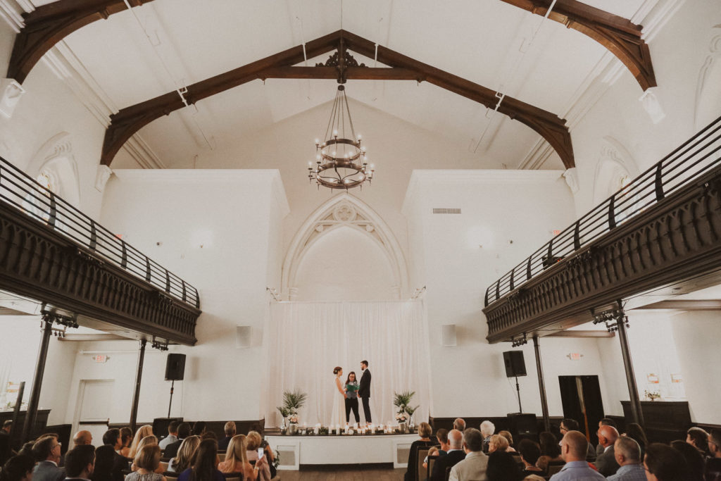 the transept wedding otr