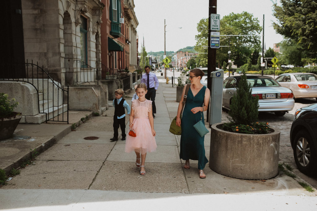 wedding day at the transept in otr