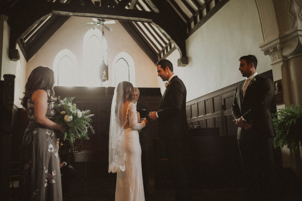 mariemont chapel wedding ceremony