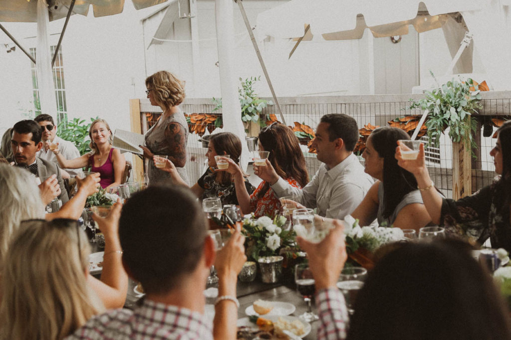 terrace park wedding toasts